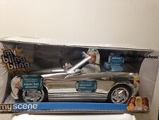 Barbie My Scene Bling Wheel Vehicle Car Slammin' Silver Metallic (Mirror) Rare