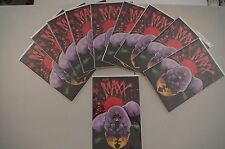 10 copies of The Maxx (1993) #1 First Print from Image Comics by Sam Kieth