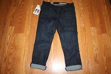 NWT Womens DKNY JEANS Skinny Crop Soho Dark Wash Jeans Size 12