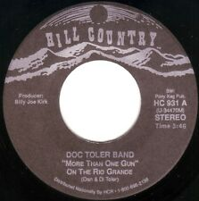 DOC TOLER BAND More Than One Gun On The Rio Grande ((**NEW 45**)) from 1997