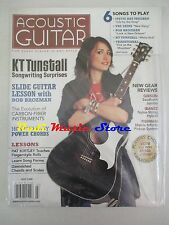 ACOUSTIC GUITAR Magazine SEALED Lug 2008 K T Tunstall Bob Brozman Shins No cd