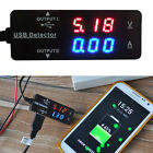 LED USB Charger Detector Voltage Current Meter Tester Mobile Power Volt Amp