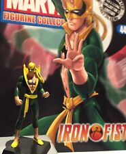 Classic Marvel Figurine Collection IRON FIST Issue 44 Eaglemoss RARE MIB SALE