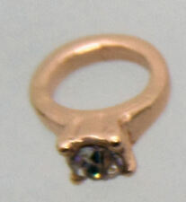 charm for living glass floating locket,  rose gold wedding ring engagement ring