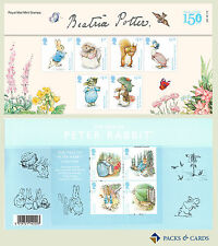 2016 Beatrix Potter Stamps and M/S in Presentation Pack PP502 (Printed no. 529)