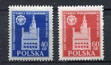 35615) POLAND 1955 MNH** 24th Intl. Fair at Poznan, 2v
