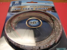 LED FLEX STRIP LIGHT WHITE LED51953DP 48 INCH CAN BE CUT TO LENTH ROPE LITE SALE