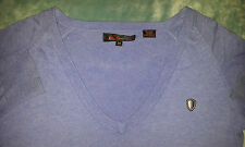 Ben SHERMAN V Neck Jumper Size: M in Very Good Condition