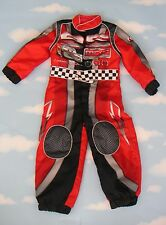 UK DISNEY STORE DELUXE CARS LIGHTENING MCQUEEN RACING COSTUME 7-8 YRS HALLOWEEN