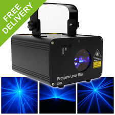 Beamz Prospero Blue DMX 150mW Laser Light Mobile DJ Disco Party Event Lighting