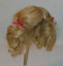 """Antique *8"""" HUMAN HAIR WIG* for German or French Doll"""