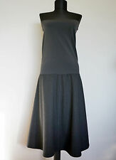 Wolford Dark Grey Daytona Wool Dress, Size:44