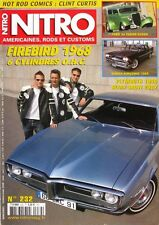 Nitro n°232 - 2008 - Firebird 1968 - Ford 34 Tudor Sedan - Dodge Kingsway -