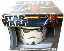 Star Wars: Stormtrooper 2D Relief Ceramic Mug - New & Official In Picture Box