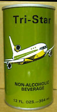 TRI-STAR NON-ALCOHOLIC BEVERAGE Beer CAN 4 SAUDI ARABIA NEW JERSEY 1/1+ AIRPLANE