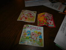 1980 1983 Vintage Strawberry Shortcake Kenner American Greetings Product Booklet