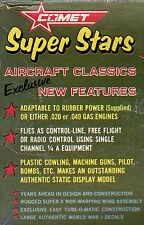 COMET SUPER STARS AIRPLANE PLANS COLLECTION ON CD!!!!