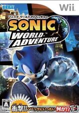 Used Wii Sonic World Adventure Nintendo JAPAN JP JAPANESE JAPONAIS IMPORT