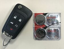 2X CHEVY EQUINOX CR2032 KEY FOB REMOTE BATTERY (FITS: MOST CHEVROLET)