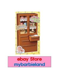 "Re-ment CABINET ""NEW"" MINIATURE BARBIE KITCHEN FURNITURE 1/6 SCALE FOOD"