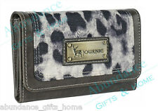 Anna Nova Journie Snow Leopard Ladies Wallet Purse *New*