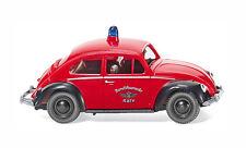 HO Wiking 1960 VW Volkswagen Beetle 1200 Köln Fire Chief MODEL CAR 86137
