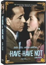To Have And Have Not (1944) DVD (Sealed) ~ Humphrey Bogart