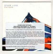 (GL311) Other Lives, Pattern - 2015 DJ CD