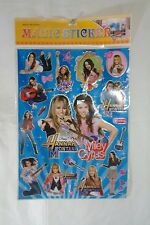 Hannah Montana Miley Cyrus magic Jumbo Stickers Decoration Bedroom  S6