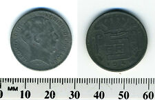 Belgium 1941 - 5 Francs  Zinc Coin - WWII - German Occupation - French Legend