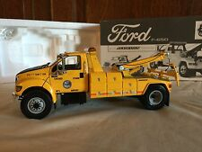 "First Gear 1:34 Ford F-650 Truck Jeerdan Tow Body Wrecker Chicago O ""Hare"
