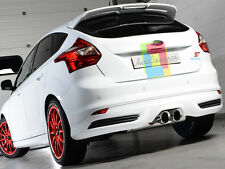 DIFFUSORE POSTERIORE FORD FOCUS III MK3 2011+ SOTTO PARAURTI LOOK RS TUNING