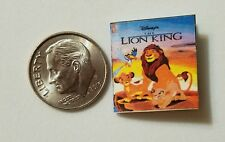Miniature Book Disney Movie Barbie 1/12 Scale   Lion King Simba