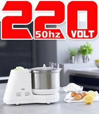 Braun NEW 220 Volt Food Processor W/Attachments (NON-USA) for Europe Asia