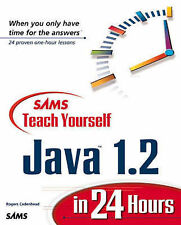 Sams Teach Yourself Java 1.2 Programming in 24 Hours, Cadenhead, Rogers, Good Bo