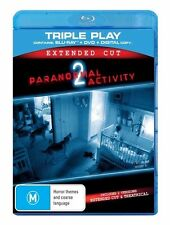 Paranormal Activity 2 Blu Ray Region B (VG Condition)