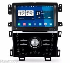 "9"" Android 4.4 Car DVD Player Stereo Radio GPS for Ford Edge 2011-2014 Auto Air"