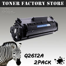 2PK Q2612A 12A Generic Toner For HP LaserJet 1012 1018 1020 1022 1022n 1022nw