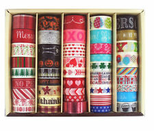 45 Rolls Recollections Seasonal Washi Tape Scrapbooking Planners Halloween Xmas