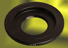 CCTV C-mount Cine Movie Film lens to Fuji-X adapter XF XC Fujifilm X-Pro1, X-E1