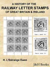 RAILWAY LETTER STAMPS Of Great Britain & Ireland Specialised 437pages - CD