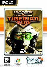Command & Conquer Tiberian Sun (PC CD) SEALED NEW