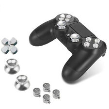Sony PS4 Playstation 4 Controller Button Set Aluminium - Silver