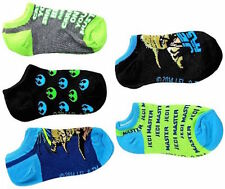 Star Wars The Yoda Set Kids Shorties Pedi Ankle Socks Pack of 5 Pair