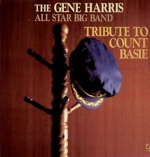 Harris Gene, All Star Big Band, Tribute to Count Basie, rare 1988 LP