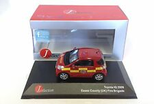 Toyota IQ Essex UK - Fire Brigade 2009 IXO 1:43 DIECAST CAR MODEL JC169
