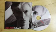 DAVID BOWIE - iSELECTBOWIE MAIL ON SUNDAY NEWSPAPER FREE ISSUE (CD 2008)