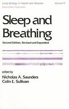 Sleep and Breathing, Second Edition, (Lung Biology in Health and Disea-ExLibrary