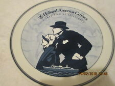 "Delft 10"" Plate Royal Goedewaagen Holland America Cruise Line TRADITION EXCELLEN"