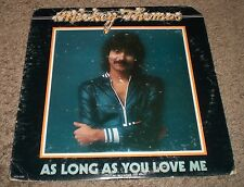 As Long As You Love Me Mickey Thomas~PROMO~Jefferson Starship~FAST SHIPPING!!!